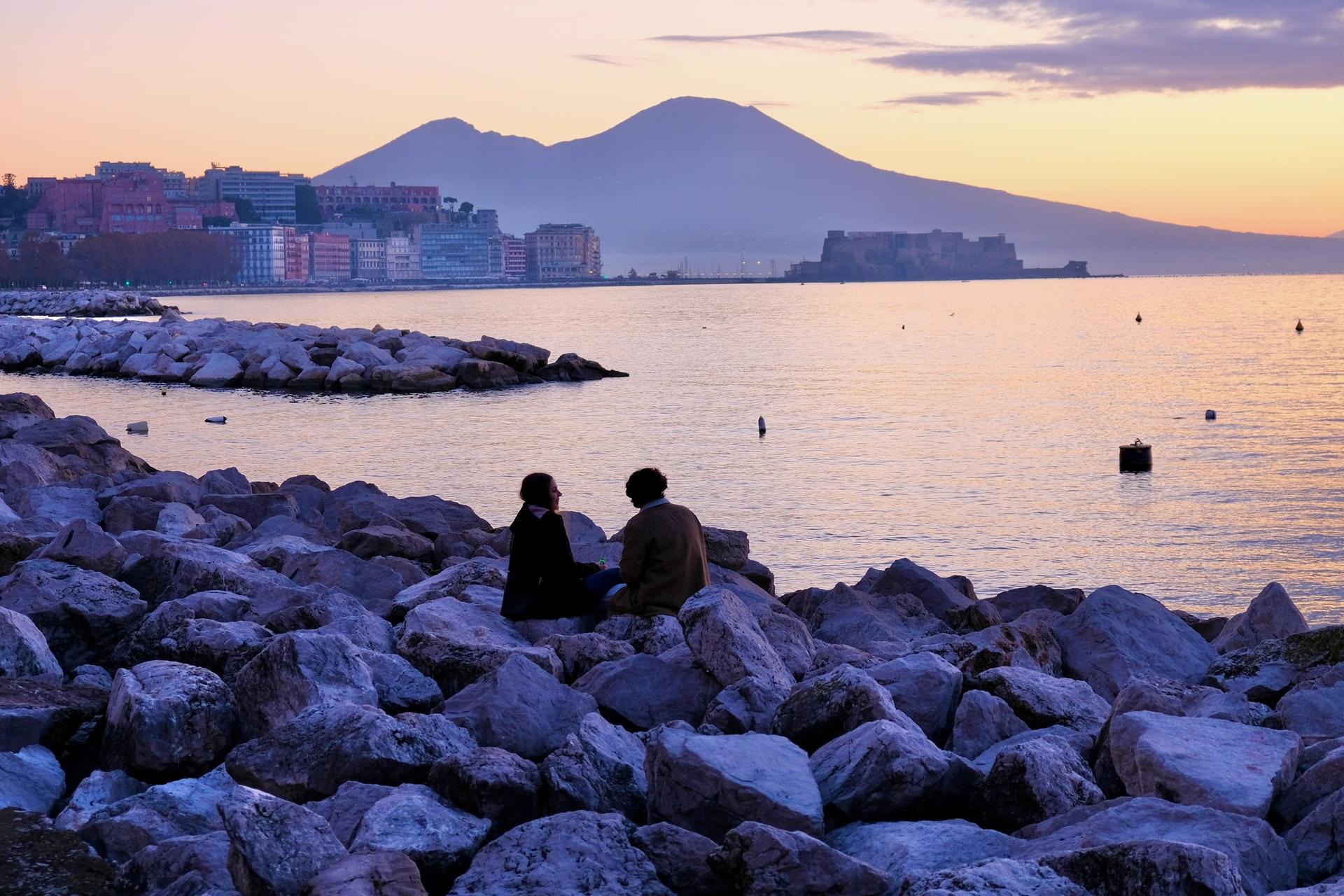 che emozioni un panorama di Napoli